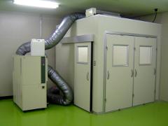工場・研究室の既存空間、空きスペースを簡単にクリーン化! 清浄度や広さを自由に設計できるクリーンブース!