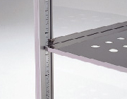 Shelf boards rail
