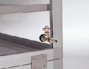 Gas fillings valve